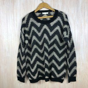 Urban Outfitters Staring At Stars Chevron Sweater